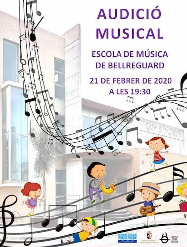 Audició musical Escola Febrer 2020