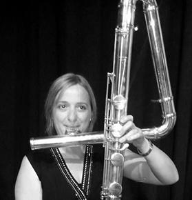 Gema Femenía Pellicer, Profesora de flauta escuela de música Bellreguard