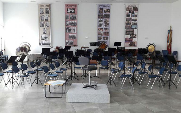 Conservatori - Lugar ensayo Banda de Bellreguard