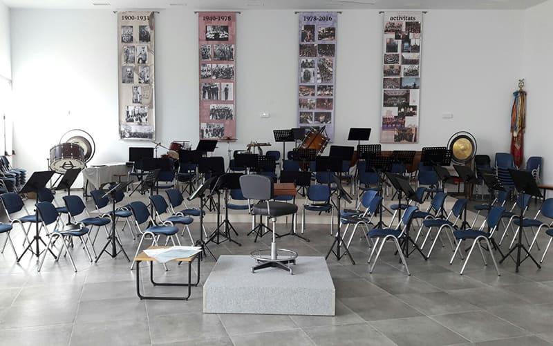 Lugar ensayo Banda de Bellreguard