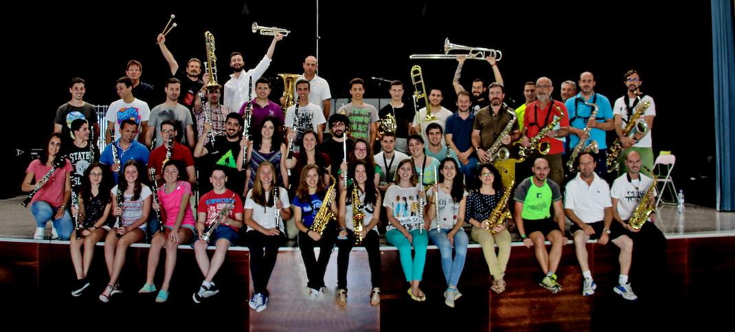 Músics banda de Bellreguard, Moros y Cristianos